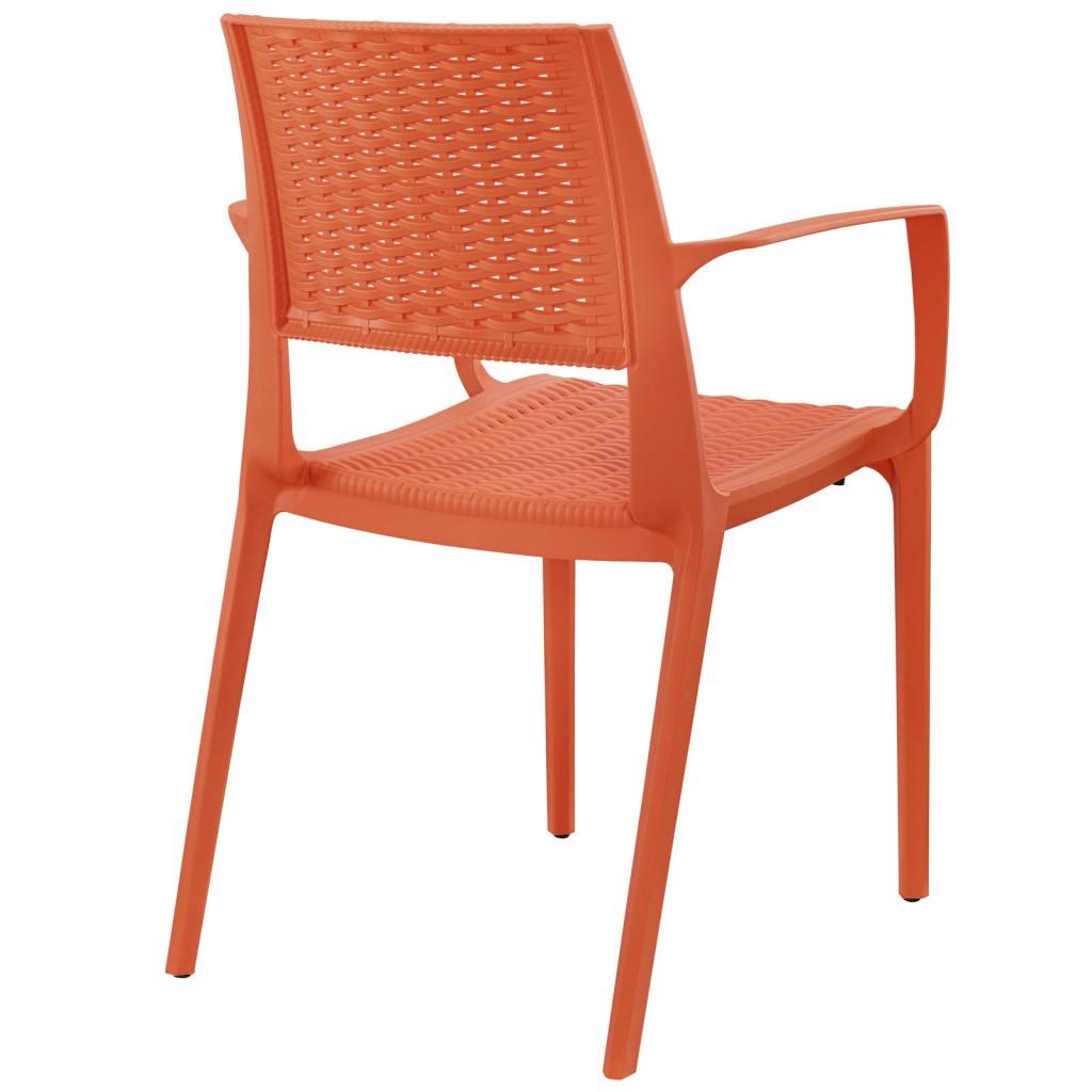 Tibi Armchair Orange