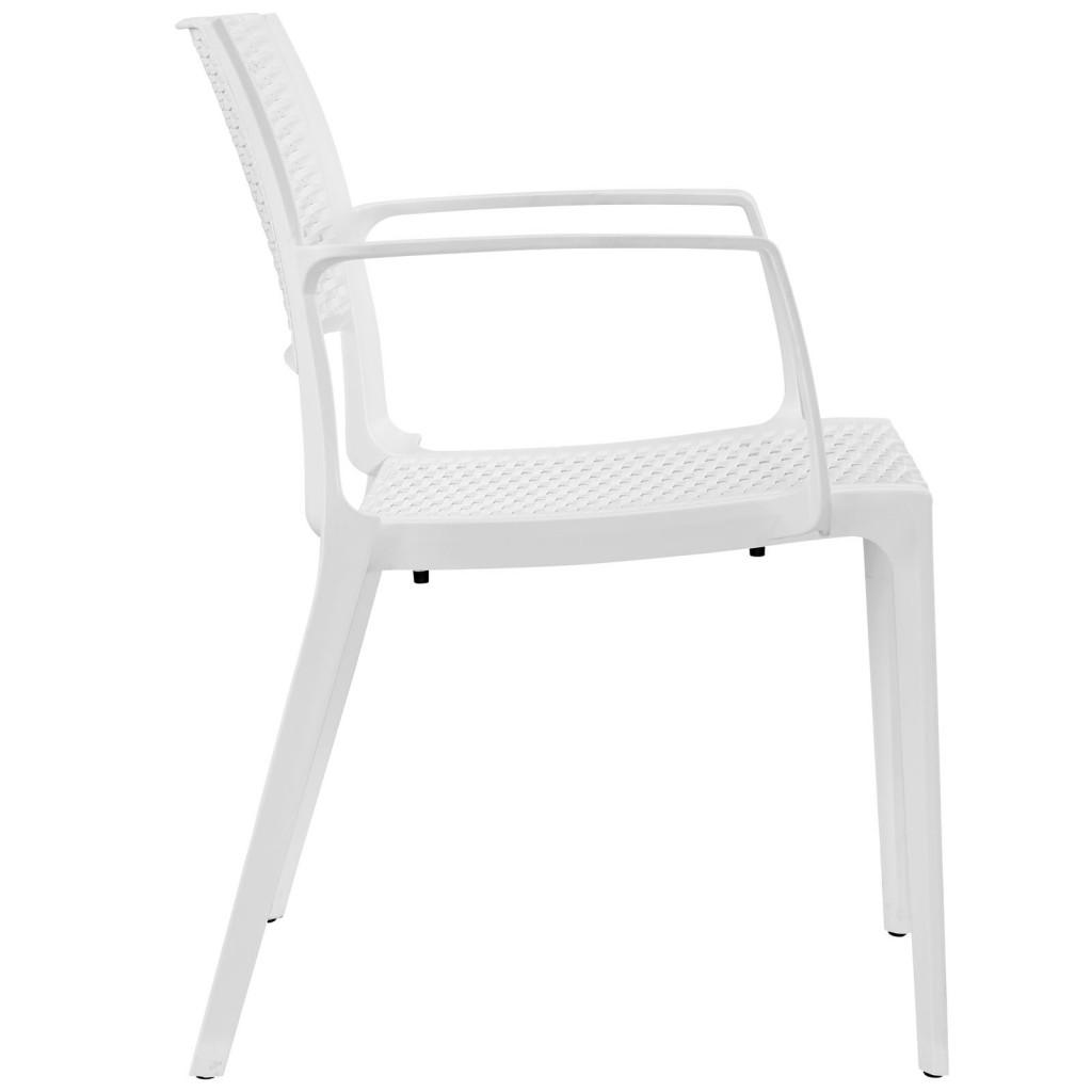 Tibi Armchair White 2