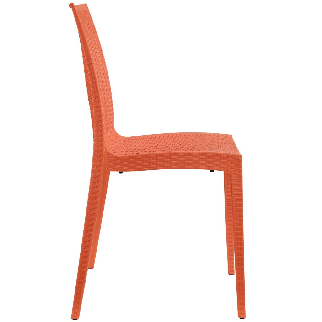 Tibi Chair Orange 2