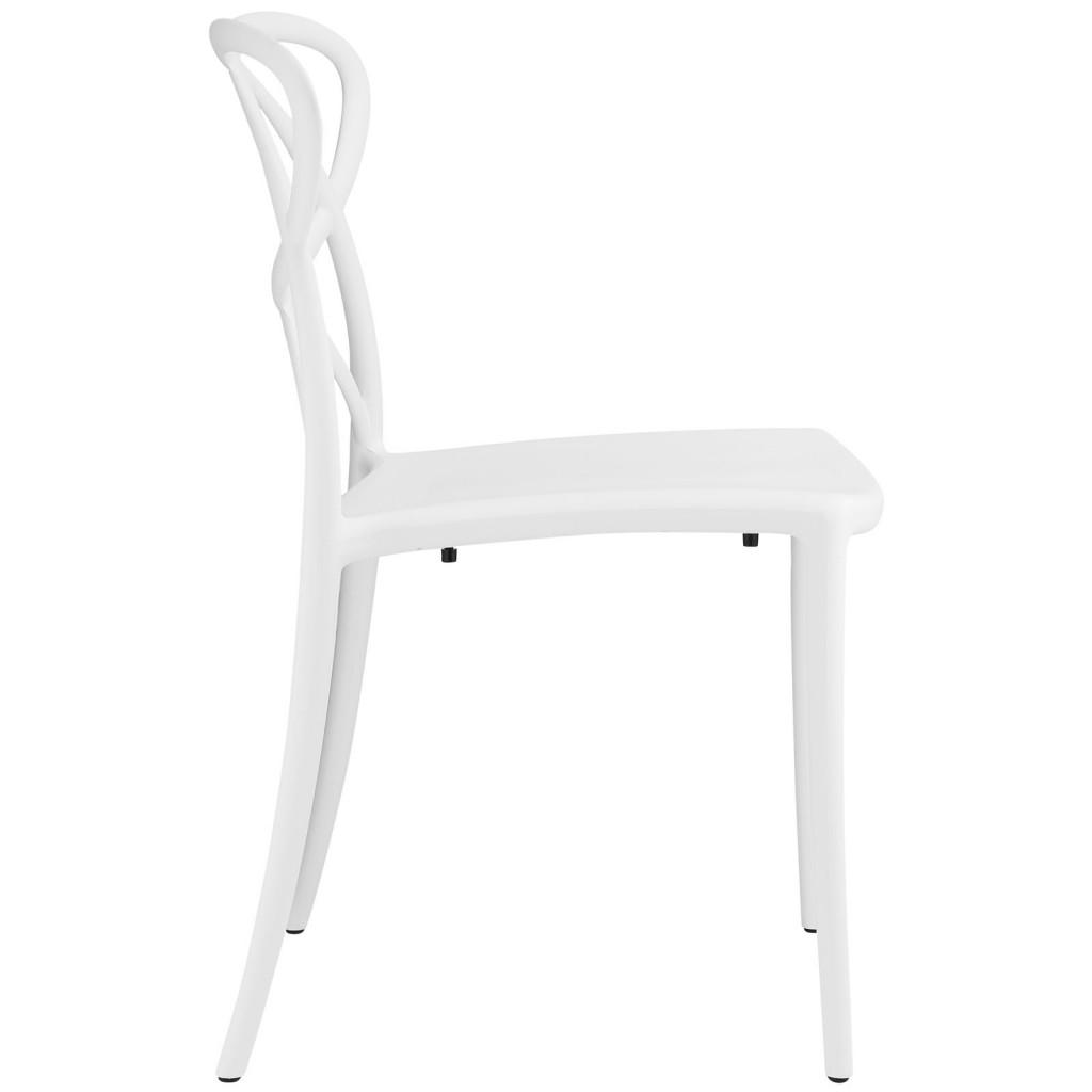 White Atom Chair 2