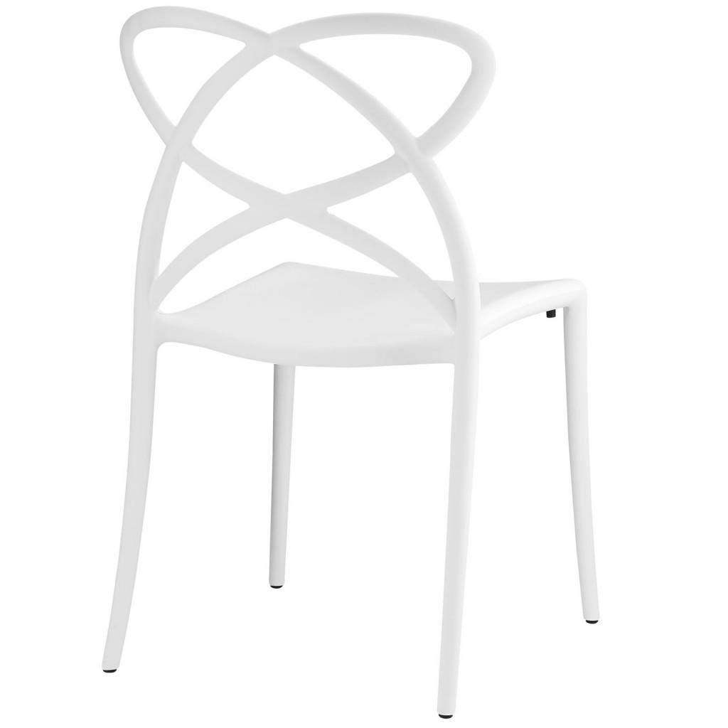 White Atom Chair 3