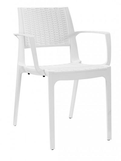 White Tibi Armchair e1435094611705