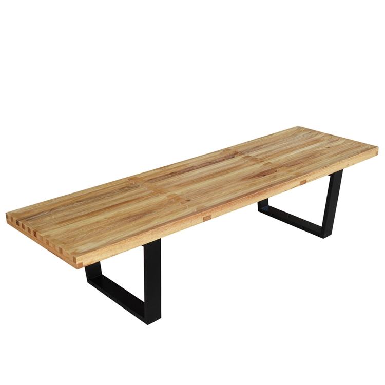 Natural Wood Samurai Triple Slat Bench 5 A
