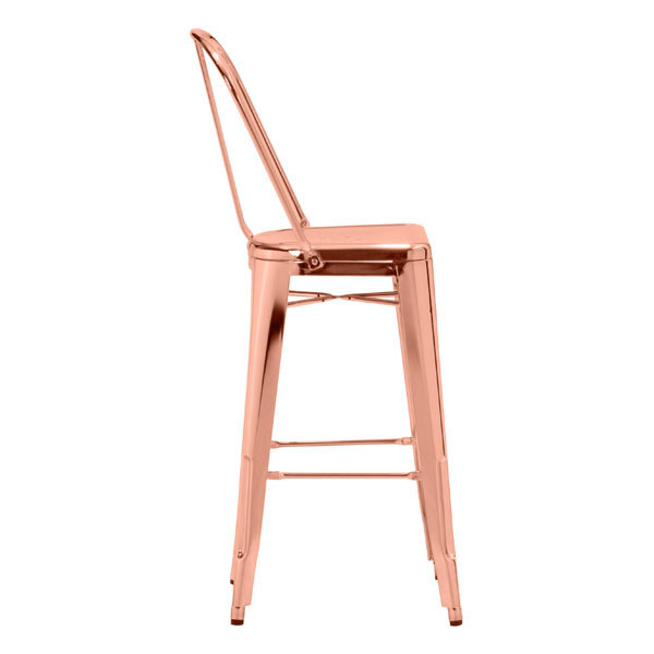 Rose Gold Barstool 2