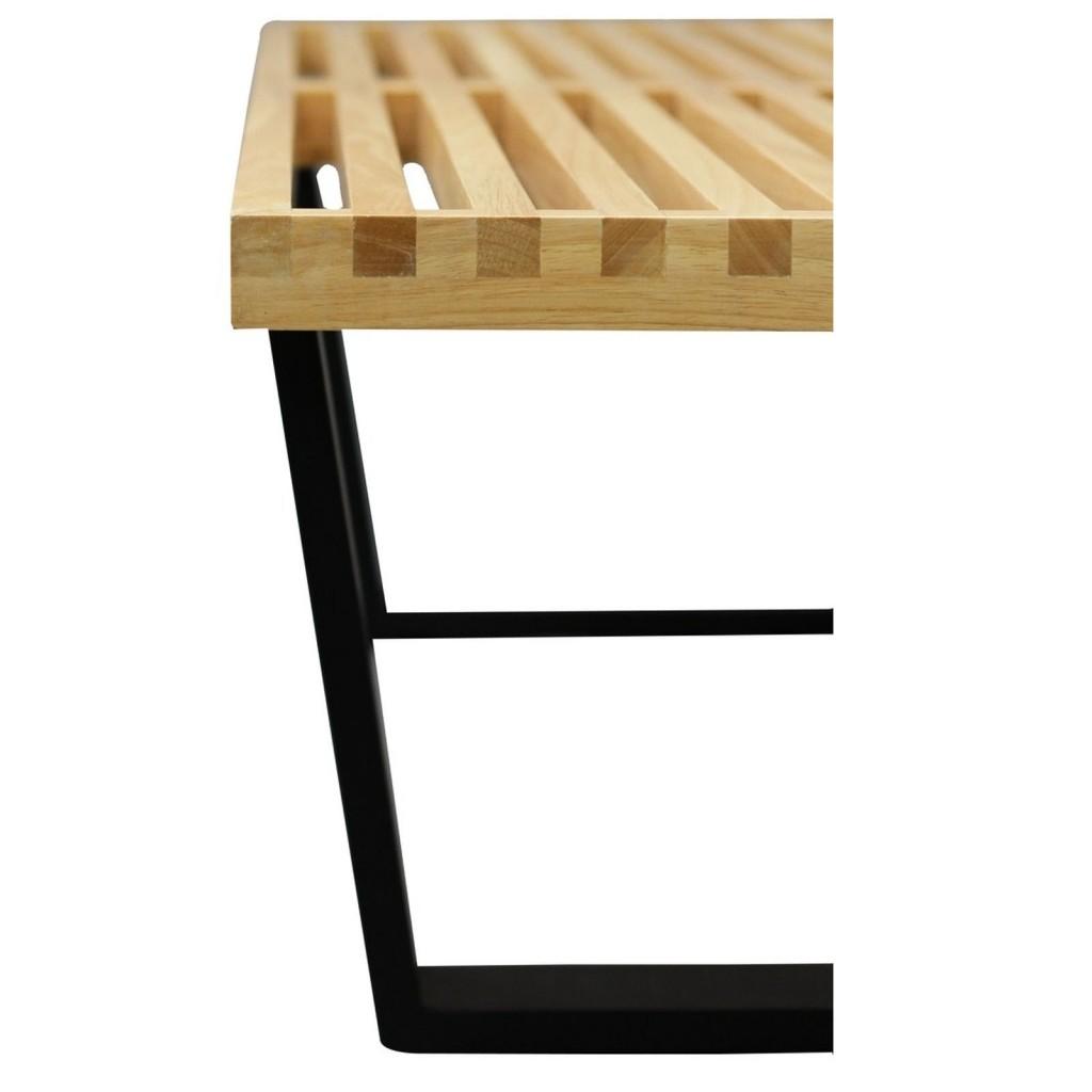 Samurai Double Slat Bench D