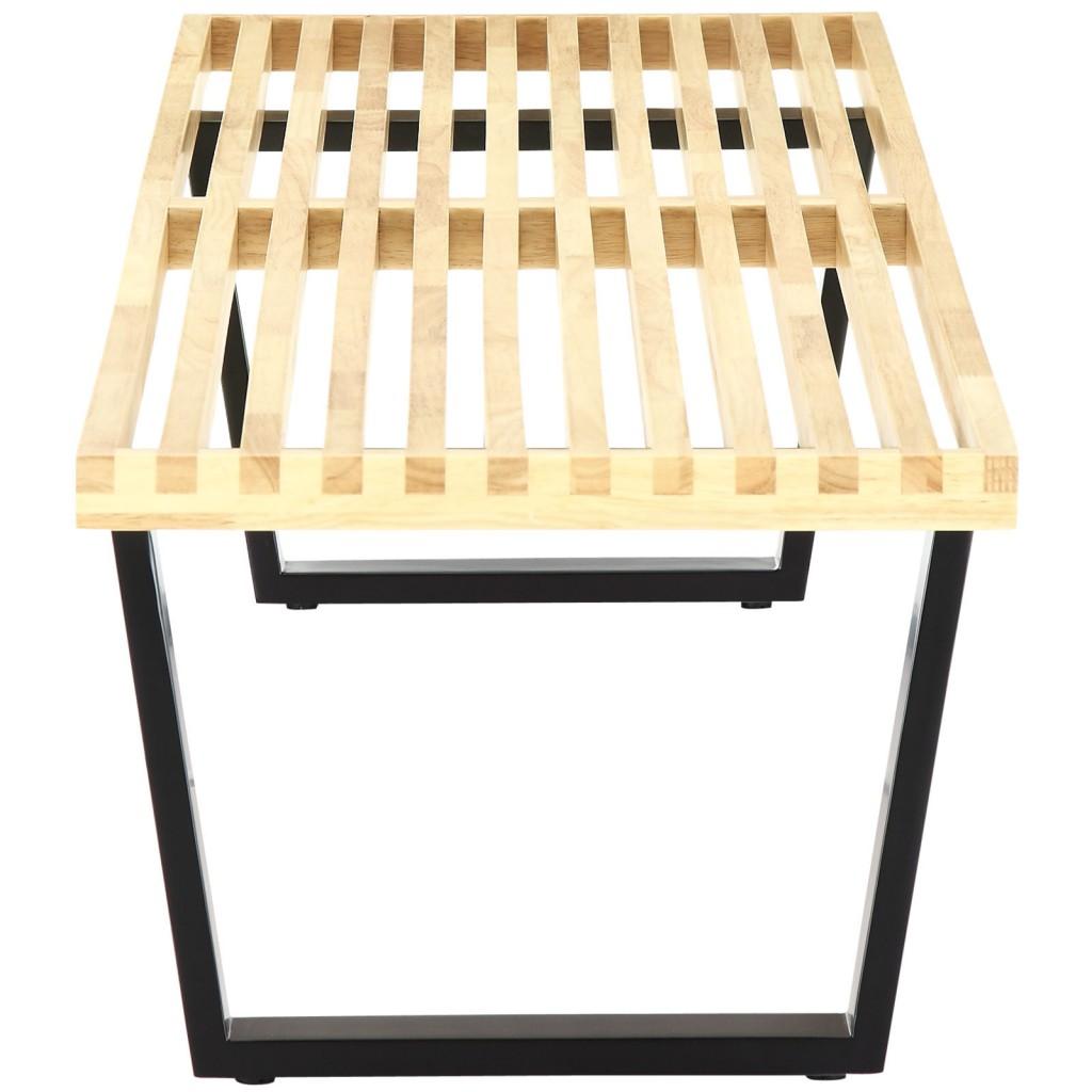 Samurai Double Slat Bench H