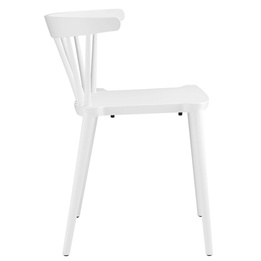 White Doral Chair 2