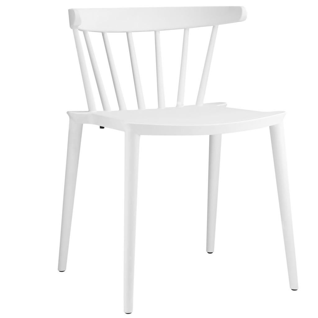 White Doral Chair