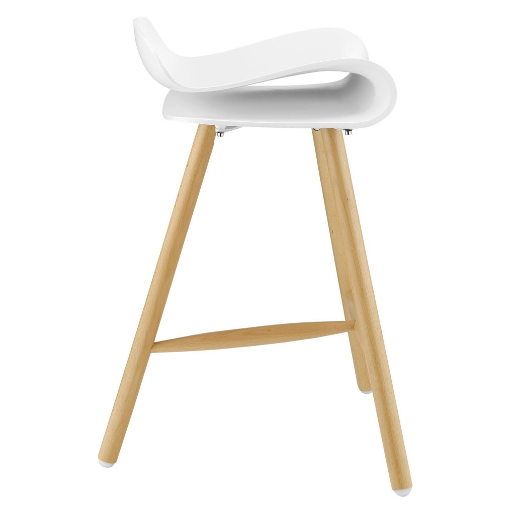 White Simian Barstool 2