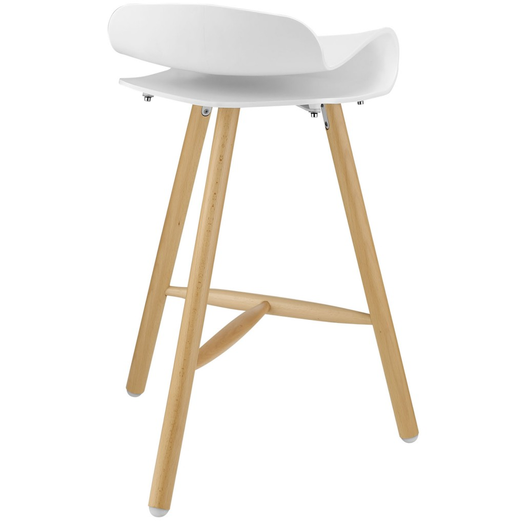 White Simian Barstool 3