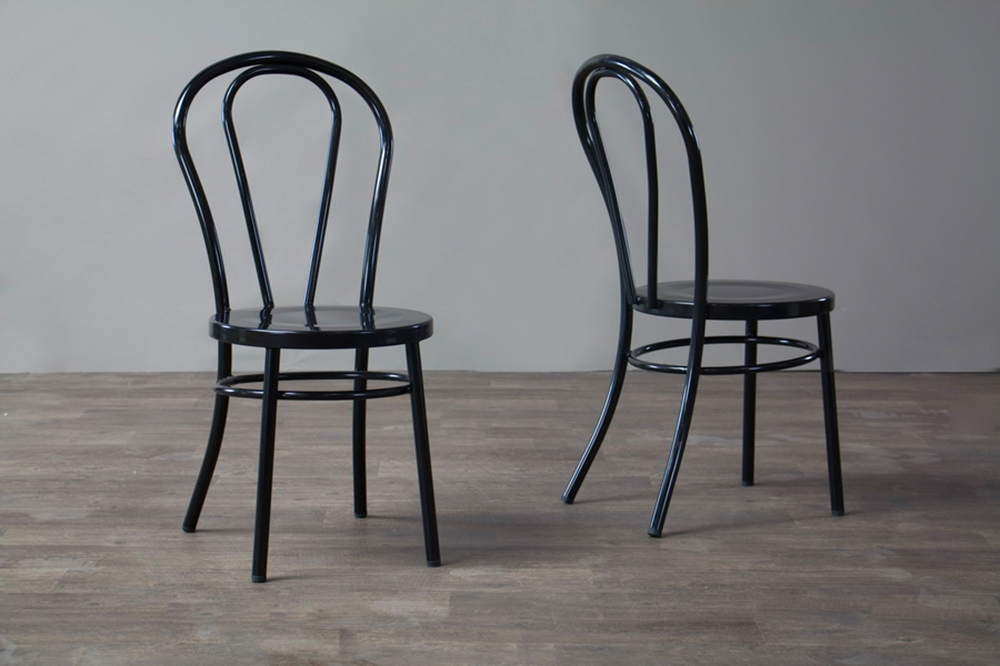 Black Spector Chair Set 2