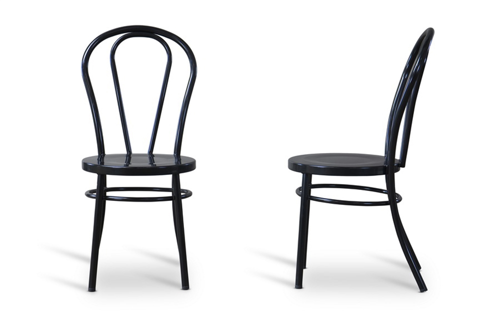 Black Spector Chair Set 5