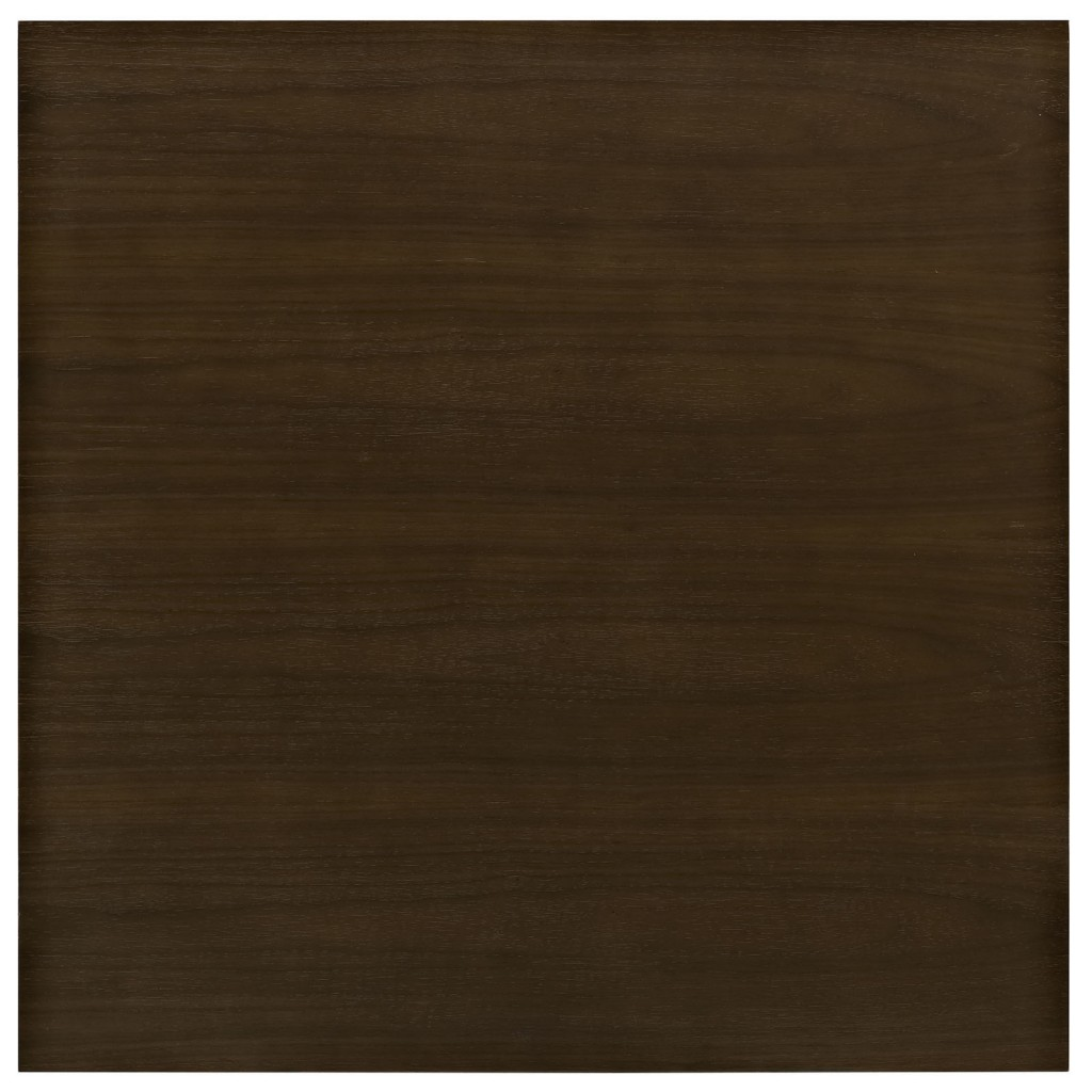 Dusk Square Walnut Wood Dining Table 28 Inch 3