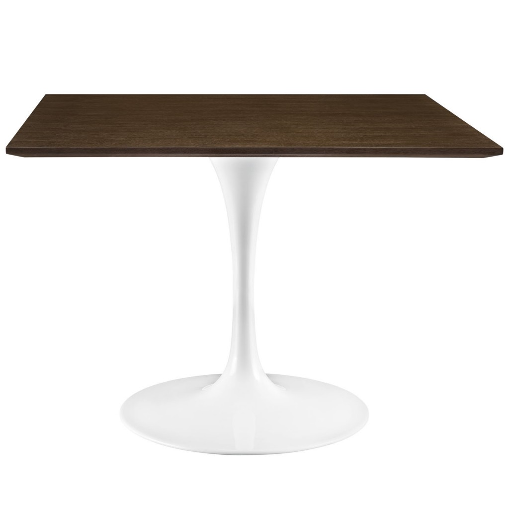 Dusk Square Walnut Wood Dining Table 40 Inch 2