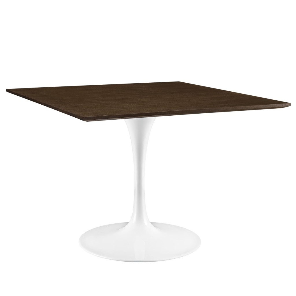 Dusk Square Walnut Wood Dining Table 40 Inch