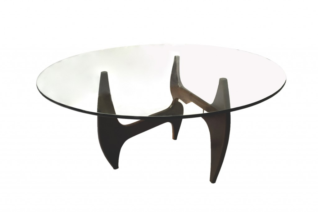 Esquire Wood Glass Dining Table 2