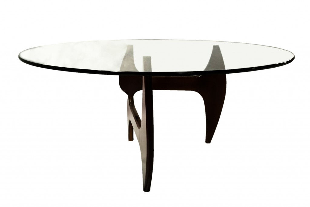 Esquire Wood Glass Dining Table 5