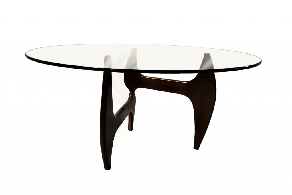 Esquire Wood Glass Dining Table 6