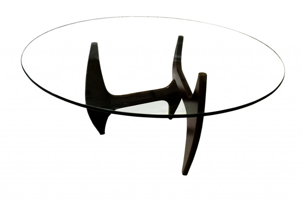Esquire Wood Glass Dining Table 7
