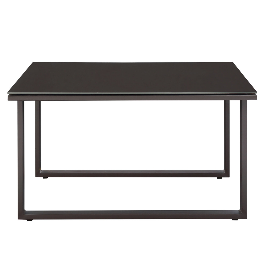 Brown Star Island Outdoor Side Table