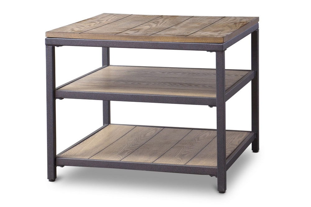 Cargo Wood End Table 1