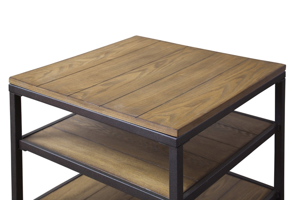 Cargo Wood End Table 2