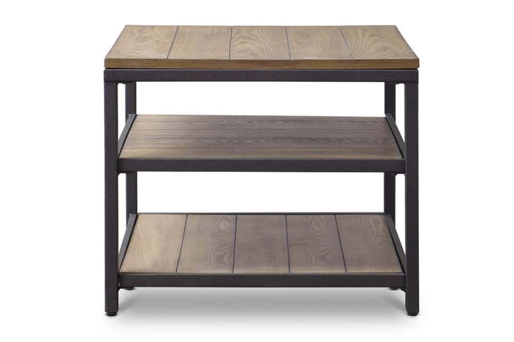 Cargo Wood End Table 3