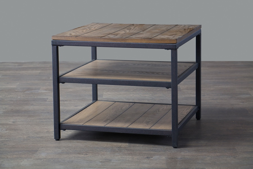 Cargo Wood End Table 4
