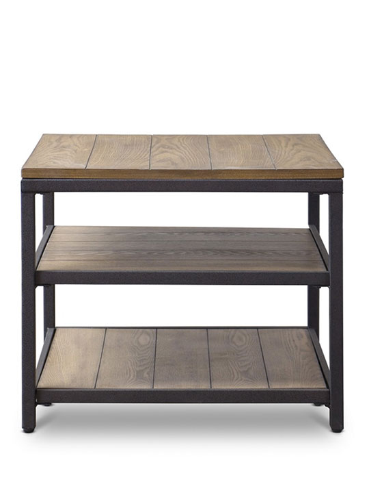 Cargo Wood End Table