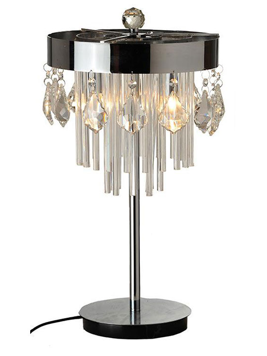 Chic Crystal Table Lamp