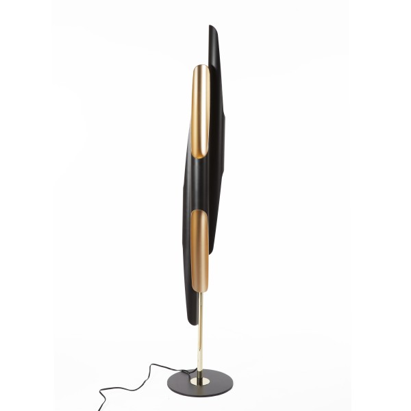 Deco Gold Black Floor Lamp 3