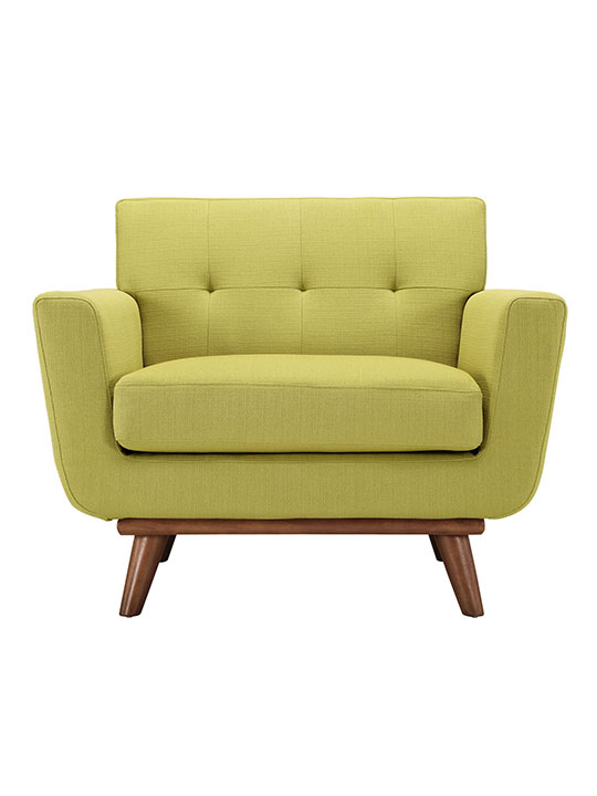 Green Pop Art Deco Armchair