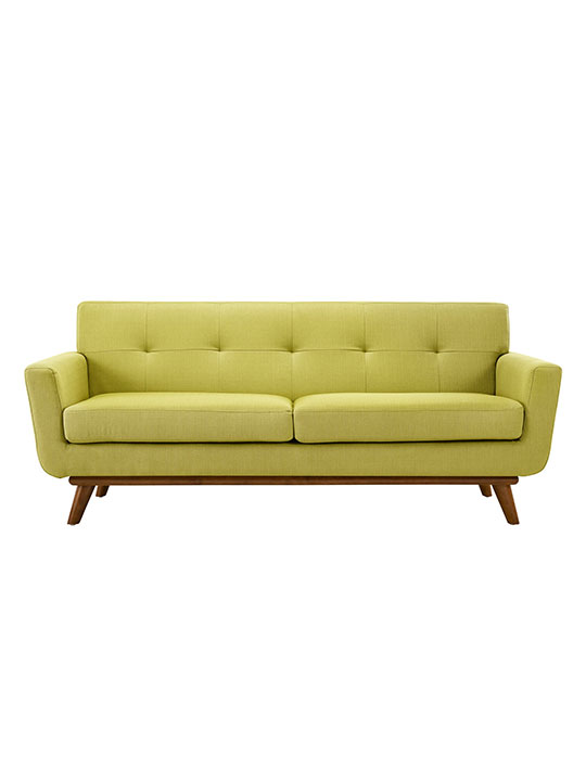 Green Pop Art Loveseat