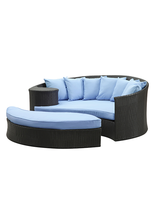Light Blue Austin Outdoor Sofa Set
