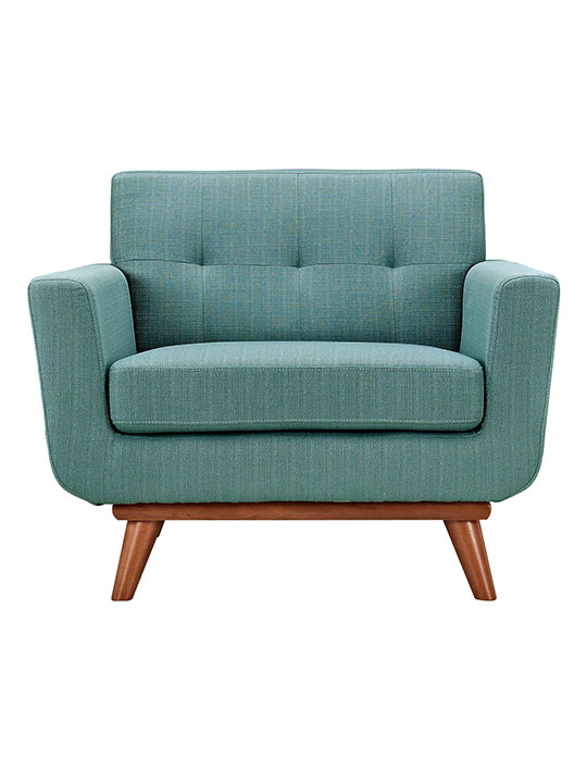 Light Blue Pop Art Deco Armchair