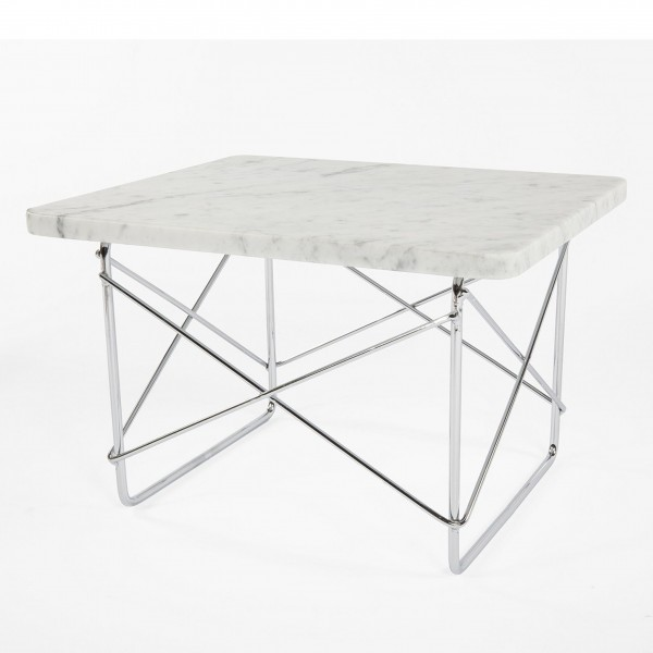 Marble Wire Side Table 2