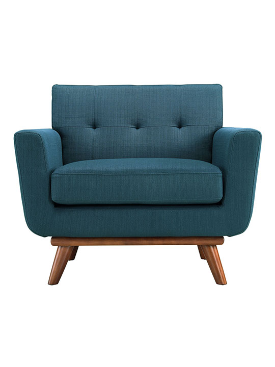 Ocean Blue Pop Art Deco Armchair
