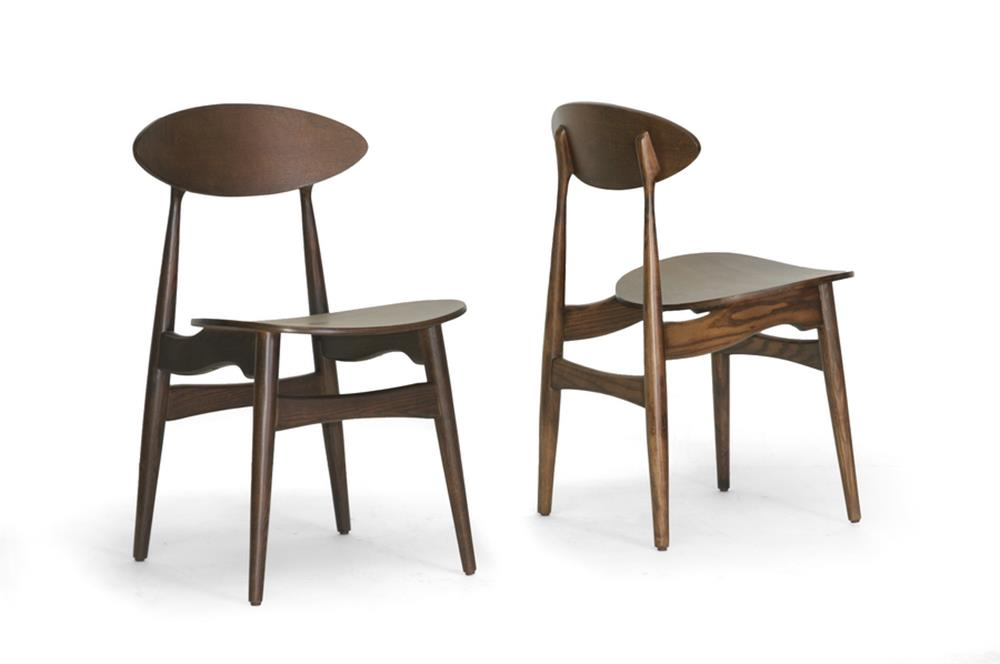 Oval Wood DIning Chair 3