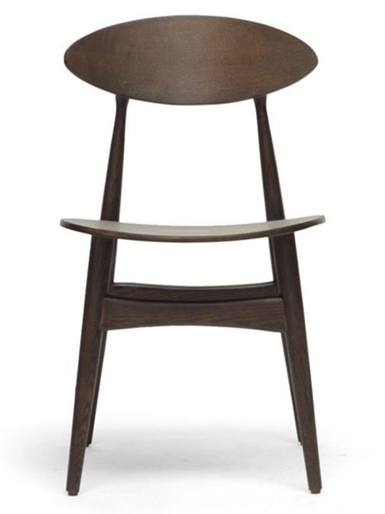 Oval Wood Dining Chair