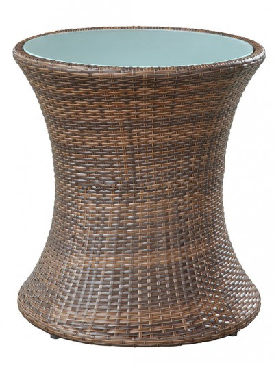 Rattan Drum Side Table 4 e1435094567418