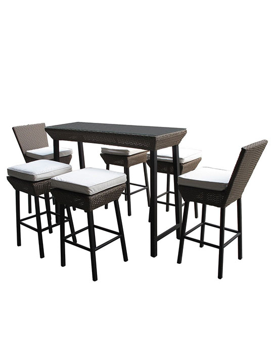 Seaside Outdoor Dining Set 4