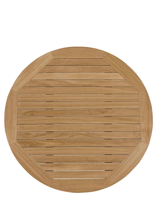 Teak Outdoor Round Coffee Table 3