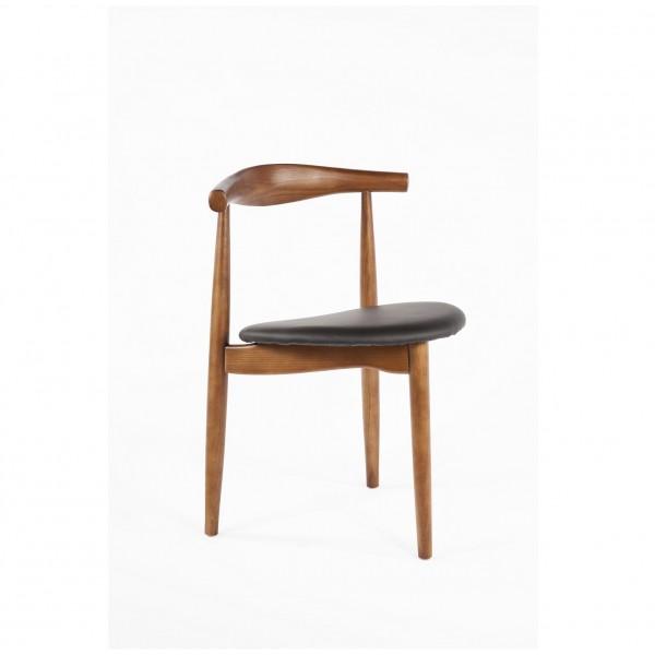 Tripod Wood Mid Century Chair