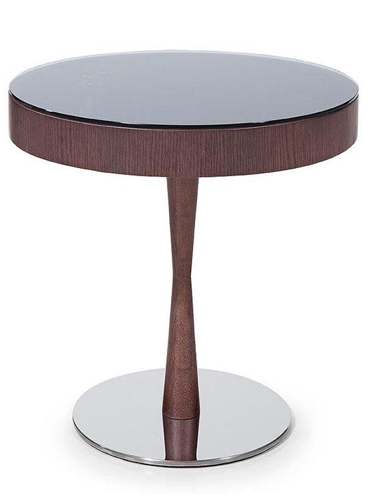 Wenge Wood Display Side Table