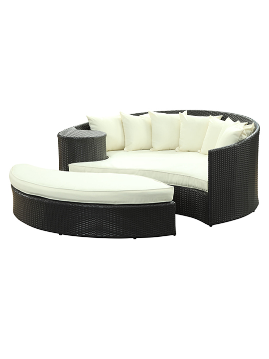 White Austin Outdoor Sofa Set