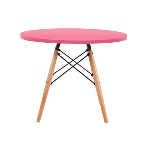 pink kids table