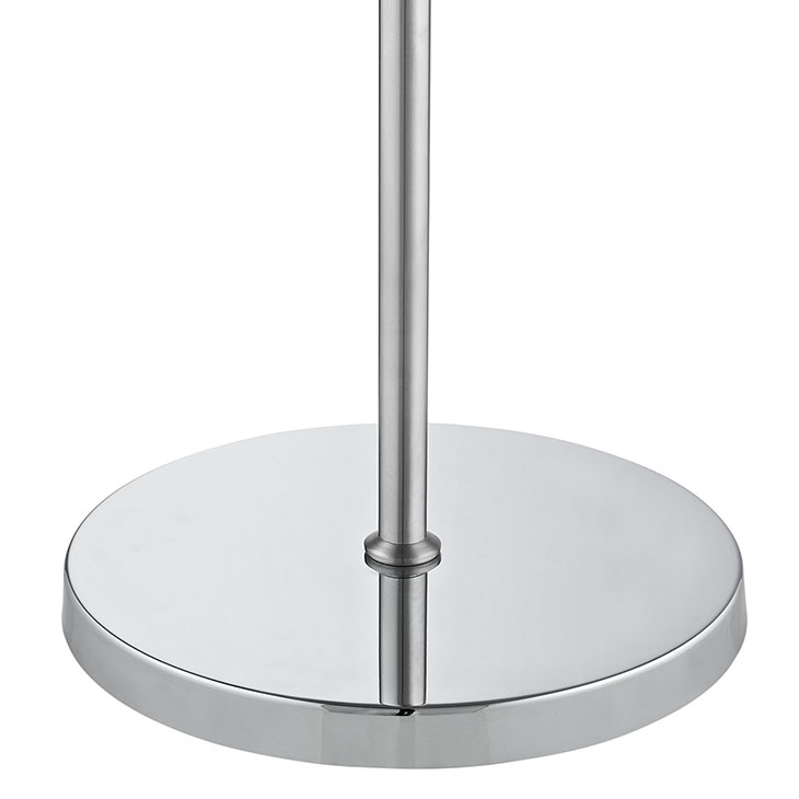 pose floor lamp silver base 2