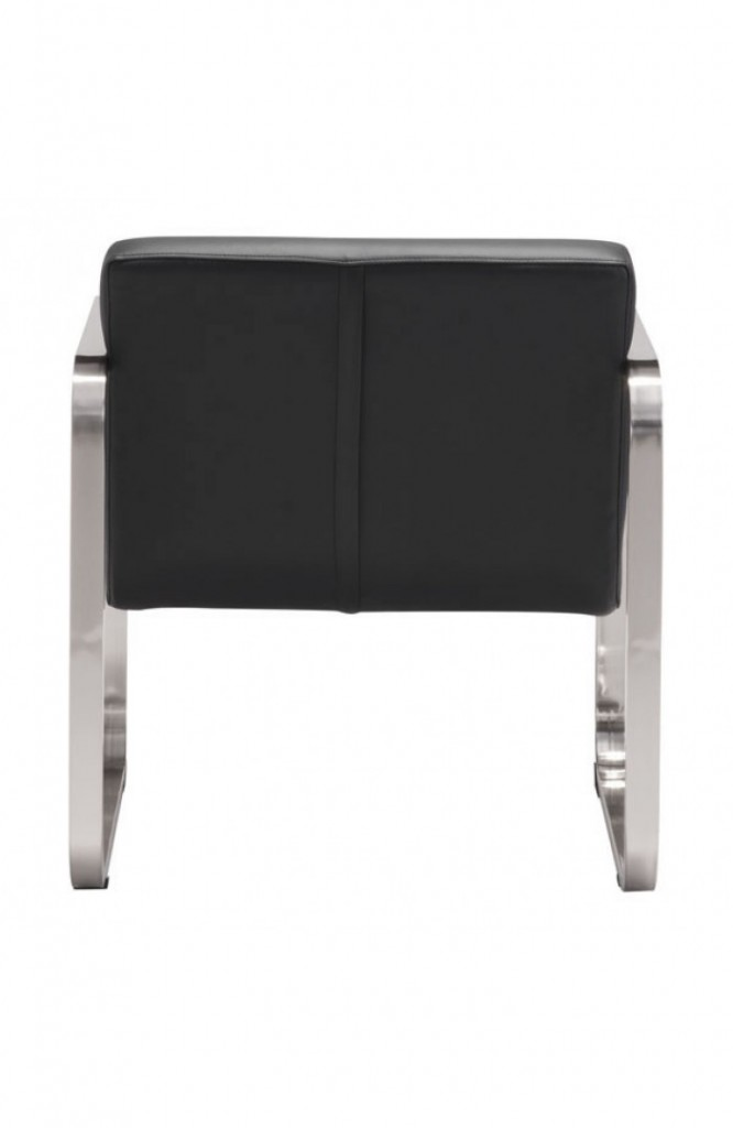21st Century Chair Black Leather 4