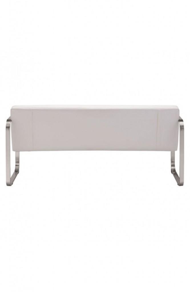21st Century Sofa White Leather1