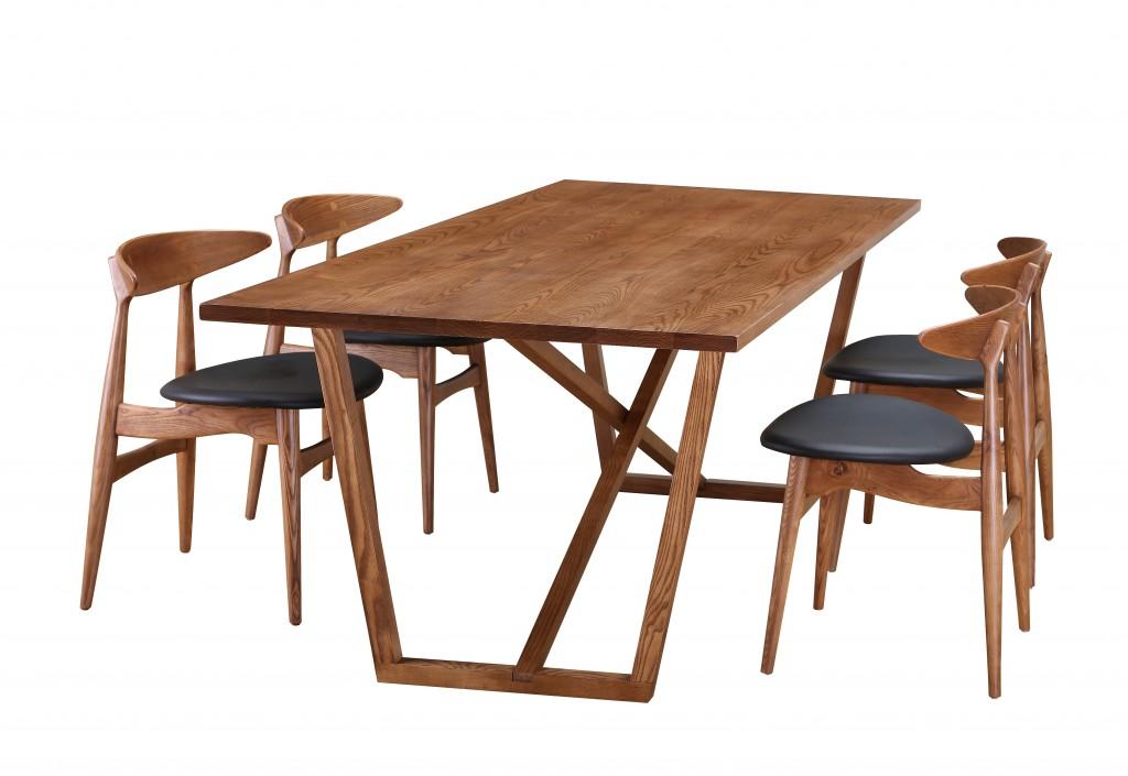 Ark Walnut Wood Dining Table 5